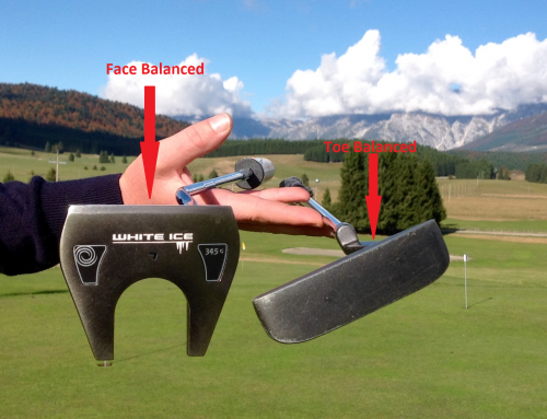 FACE o TOE BALANCED PUTTER?